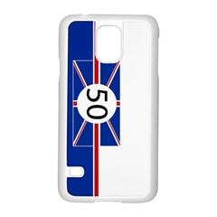 Uk Samsung Galaxy S5 Case (white)