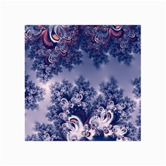 Pink And Blue Morning Frost Fractal Canvas 36  X 48  (unframed)
