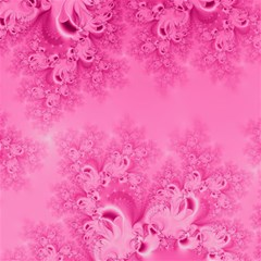 Soft Pink Frost Of Morning Fractal Canvas 20  X 20  (unframed)