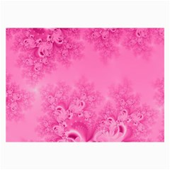 Soft Pink Frost of Morning Fractal Canvas 24  x 36  (Unframed)