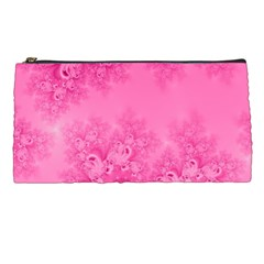 Soft Pink Frost Of Morning Fractal Pencil Case