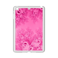 Soft Pink Frost Of Morning Fractal Apple Ipad Mini 2 Case (white)
