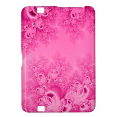 Soft Pink Frost of Morning Fractal Kindle Fire HD 8.9  Hardshell Case