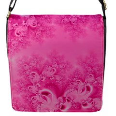 Soft Pink Frost of Morning Fractal Removable Flap Cover (Small)