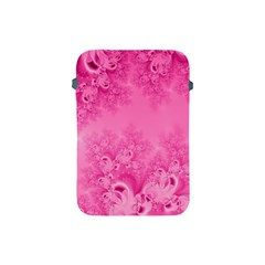Soft Pink Frost Of Morning Fractal Apple Ipad Mini Protective Sleeve