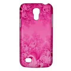 Soft Pink Frost of Morning Fractal Samsung Galaxy S4 Mini (GT-I9190) Hardshell Case