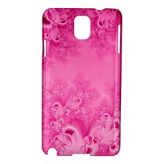Soft Pink Frost of Morning Fractal Samsung Galaxy Note 3 N9005 Hardshell Case