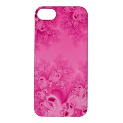Soft Pink Frost Of Morning Fractal Apple Iphone 5s Hardshell Case