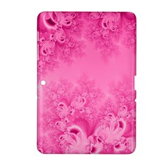 Soft Pink Frost of Morning Fractal Samsung Galaxy Tab 2 (10.1 ) P5100 Hardshell Case