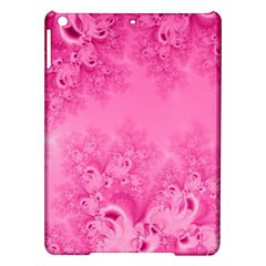 Soft Pink Frost Of Morning Fractal Apple Ipad Air Hardshell Case