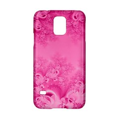 Soft Pink Frost of Morning Fractal Samsung Galaxy S5 Hardshell Case