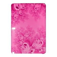 Soft Pink Frost Of Morning Fractal Samsung Galaxy Tab Pro 12 2 Hardshell Case