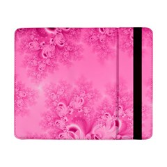 Soft Pink Frost Of Morning Fractal Samsung Galaxy Tab Pro 8 4  Flip Case