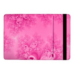 Soft Pink Frost of Morning Fractal Samsung Galaxy Tab Pro 10.1  Flip Case