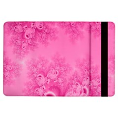 Soft Pink Frost Of Morning Fractal Apple Ipad Air Flip Case