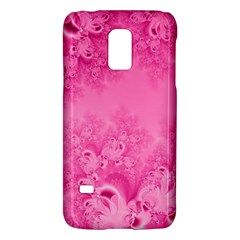 Soft Pink Frost of Morning Fractal Samsung Galaxy S5 Mini Hardshell Case