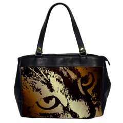 Tigre Chat Oversize Office Handbag (one Side)