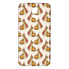Vintage Halloween Child Samsung Galaxy S5 Back Case (White)