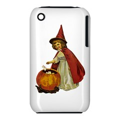 Vintage Halloween Child Apple iPhone 3G/3GS Hardshell Case (PC+Silicone)