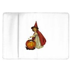 Vintage Halloween Child Samsung Galaxy Tab 10.1  P7500 Flip Case