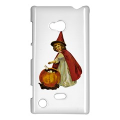Vintage Halloween Child Nokia Lumia 720 Hardshell Case