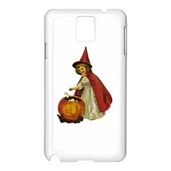 Vintage Halloween Child Samsung Galaxy Note 3 N9005 Case (White)