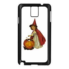 Vintage Halloween Child Samsung Galaxy Note 3 N9005 Case (Black)