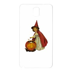 Vintage Halloween Child Samsung Galaxy Note 3 N9005 Hardshell Back Case