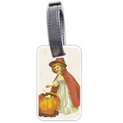 Vintage Halloween Child Luggage Tag (One Side)