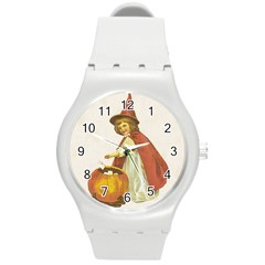 Vintage Halloween Child Plastic Sport Watch (Medium)