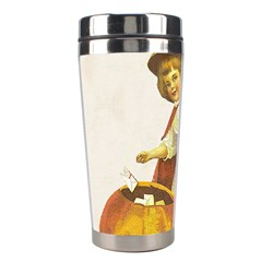 Vintage Halloween Child Stainless Steel Travel Tumbler