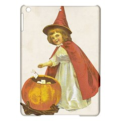 Vintage Halloween Child Apple iPad Air Hardshell Case