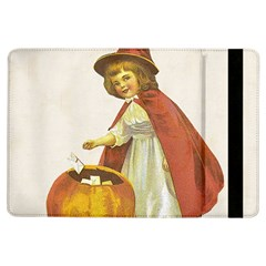 Vintage Halloween Child Apple iPad Air Flip Case