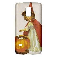 Vintage Halloween Child Samsung Galaxy S5 Mini Hardshell Case