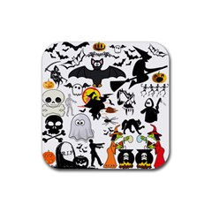 Halloween Mashup Drink Coasters 4 Pack (square)