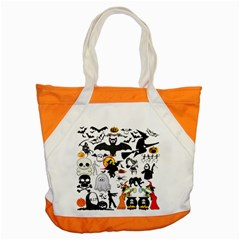 Halloween Mashup Accent Tote Bag