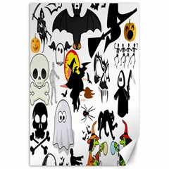 Halloween Mashup Canvas 24  x 36  (Unframed)