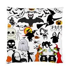 Halloween Mashup Cushion Case (single Sided)