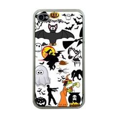 Halloween Mashup Apple Iphone 4 Case (clear)