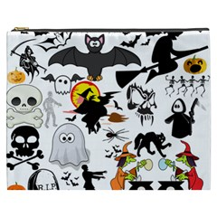 Halloween Mashup Cosmetic Bag (XXXL)