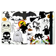 Halloween Mashup Apple iPad 3/4 Flip Case