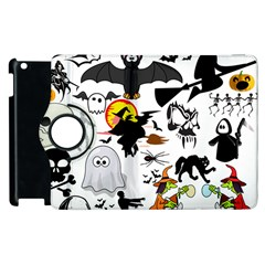 Halloween Mashup Apple Ipad 2 Flip 360 Case