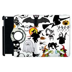 Halloween Mashup Apple iPad 3/4 Flip 360 Case