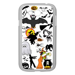 Halloween Mashup Samsung Galaxy Grand DUOS I9082 Case (White)