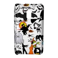 Halloween Mashup Nokia Lumia 620 Hardshell Case