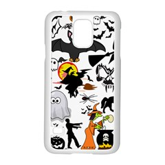 Halloween Mashup Samsung Galaxy S5 Case (white)