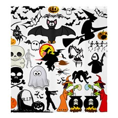 Halloween Mash Up Shower Curtain 66  x 72  (Large)