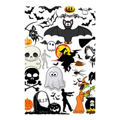 Halloween Mash Up Shower Curtain 48  x 72  (Small)