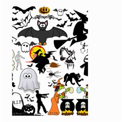 Halloween Mash Up Small Garden Flag (Two Sides)