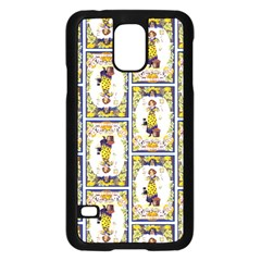 Vintage Halloween Postcard Samsung Galaxy S5 Case (Black)